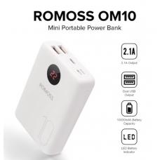 Romoss OM10 Dual-Output Mini 10000mAh Powerbank