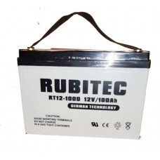 Rubitech 100AH/12V deep cycle battery