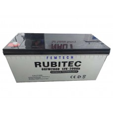 Rubitech 200ah 12v Rugged Inverter German Battery