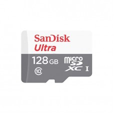 SanDisk 128GB Ultra MicroSD 80Mb/s Speed Memory Card With Adapter