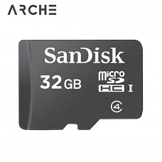 SanDisk 32GB Micro SDHC Memory Card - Black Class 4