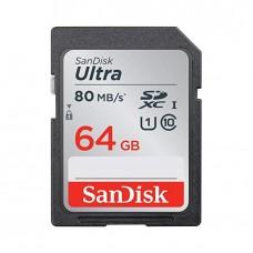 SanDisk Ultra 64GB Class 10 SD SDHC SDXC Card
