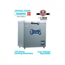 Scanfrost Chest Freezer SFL151M 166 Litres With Anti Rust Body