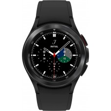 Samsung Galaxy Watch 4 Classic 46mm Smartwatch with ECG Monitor Tracker for Health Fitness Running Sleep Cycles GPS Fall Detection Black
