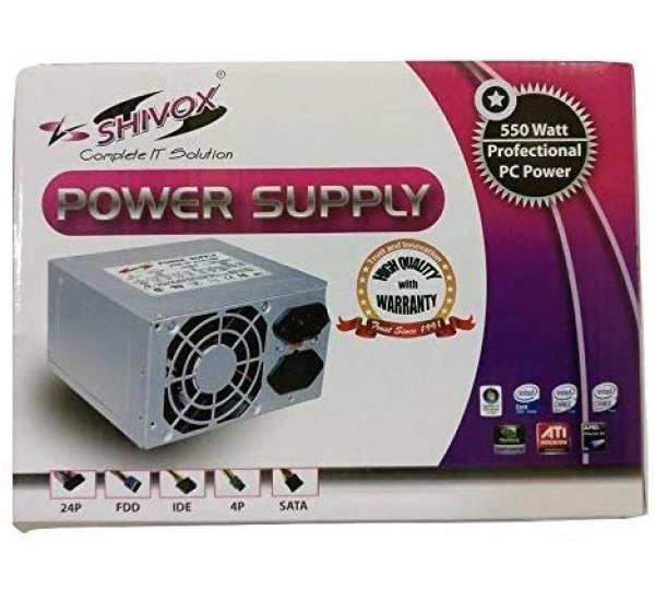 Shivox 550W Power Supply for Desktop PC