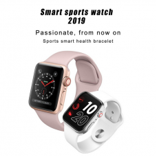 Sports 2019 GPS Smart Watch Bluetooth Fitness, Heart rate Support Wireless Charging