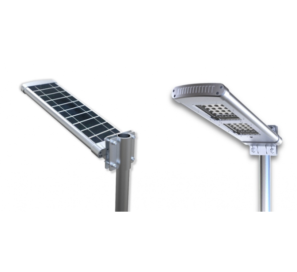 All in One Solar Street Courtyard Light 10 Watts