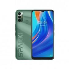 "Tecno Spark 7 6.5"" HD+, 32GB ROM + 2GB RAM, 5000mAh, 16MP Dual Camera + 8MP Selfie, Android 11, 4G, Fingerprint"