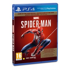Marvel Spiderman PlayStation 4 Game PS4