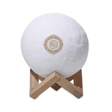 SQ-168 Moon Lamp Quran Rechargeable Speaker With Islamic Musics, Lectures, SD Slot