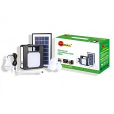 SUN AFRICA SA-7803 Solar Energy Home Lighting System Kit with 7.V 3.5W, Solar Panel, 4 LED Bulbs