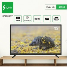 """Syinix 32"""" 32E3A LED HD TV"""