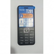 Tecno T201, MOS, 1.77 Display, 0.08MP Rear, GSM,1150mAh -Black