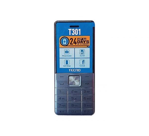 Tecno T301 Dual Sim With Camera And Torch Light 1150mah