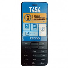 "Tecno T454 - 2.8""QVGA - 1500mAh Battery - Wireless FM - Dual Sim"