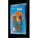 Tecno T466 50 Days Standby 2500 MaH (F.M, CAMERA, ..