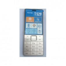 Tecno T529, 2.8 LCD Screen, GSM, 0.08MP, 2500mAh Battery Phone