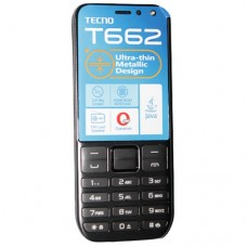 Tecno T662 Ultra Slim Phone With 1,500mAh Strong Battery