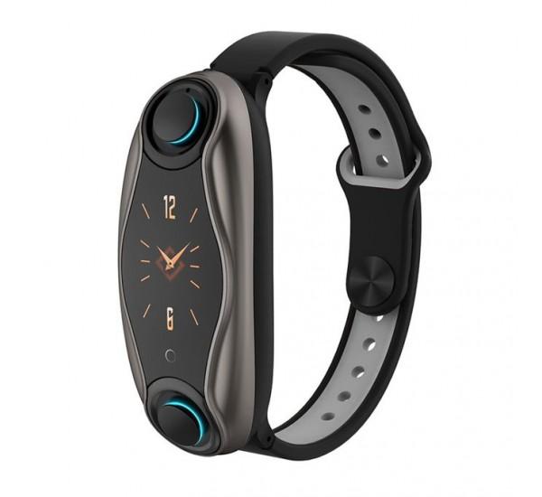 T90 2-in-1 Smart Watch & Earphones 5.0 True Wireless Bud Bracelet