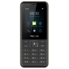 "Tecno T901 Dual Sim Camera 2.4"" Torch Watsapp 1900mAh - Black"