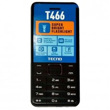 Tecno T466 50 Days Standby 2500MaH, Fm, Camera, Flash