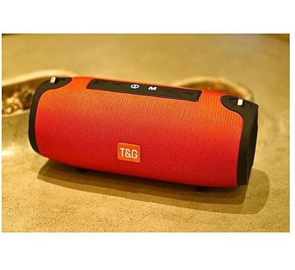 TG125 Waterproof Wireless Bluetooth 4.2 Speaker Super Bass Subwoofer Outdoor Sound Box FM Portable Stereo Speaker + 16G TF Card