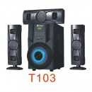 Tinmo T103 3.1CH High Definition Superbass Bluetoo..