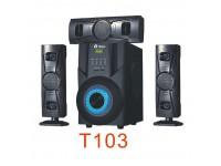 Tinmo T103 3.1CH High Definition Superbass Bluetoo..