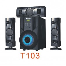 Tinmo T103 3.1 CH Multimedia Bluetooth Speaker System With Super Bass