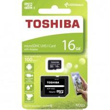 Toshiba 16GB Micro SD Memory Card Class 10