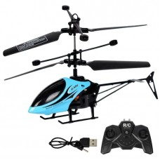 Rechargeable Fall-Resistant Remote Control Helicopter Drone Aircraft Kids Children Toy Gift