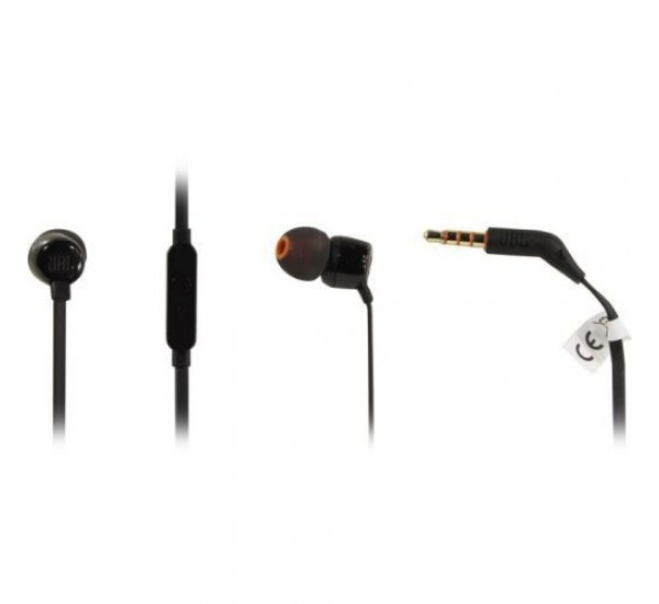 JBL Tune 110 In-Ear Headphones-Black