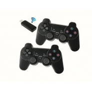 2.4ghz Usb Twin Wireless Game Controller With Vibration Function