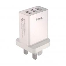 Havit HV-UC2026 USB 3.1A Triple Port Wall Charger