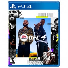 UFC 4 EA Sports PS4 Game - For PlayStation 4
