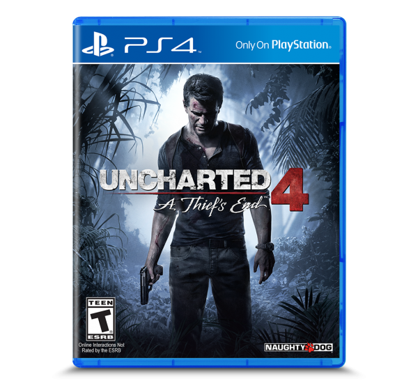 P S 4 Game Disc Uncharted 4
