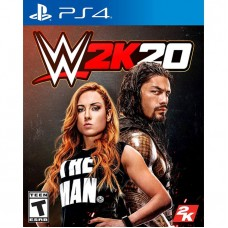 PS4 WWE W2K20  Playstation 4 Game CD