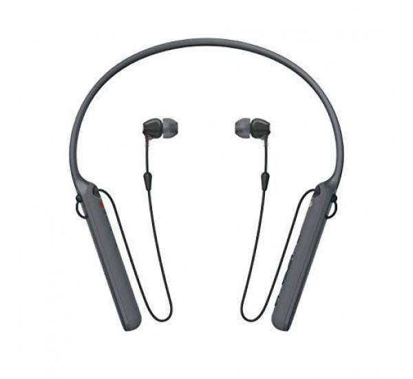 Sony - C400 Wireless Bluetooth Behind-Neck in Ear Headphone
