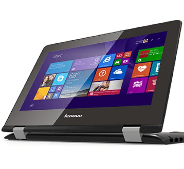 "Lenovo Yoga 300-11IBR - Intel N3060 1.60ghz   64GB SSD   4 GB RAM - Windows 10 11.6"""