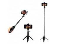 YUNTENG VCT-992 Al Alloy Wireless Remote Selfie St..