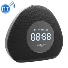 Zealot S23 Multifunctional Clock Wireless Bluetooth Speaker, Built-in Microphone, Double Alarm & Dimmable LED Night Light