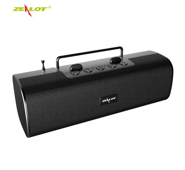 Zealot S40 Bluetooth Speaker Outdoor Subwoofer FM Super Radio Band Antenna Mobile Phone Stand Speaker 2000 mA