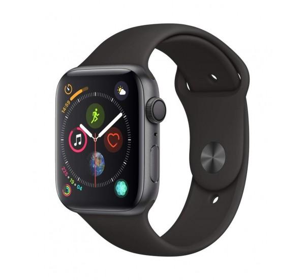 Apple Watch Series 4 (GPS, 48mm) - Aluminium Case with Black Sport Band