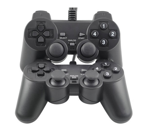 Dual Shock Game Pad | Double