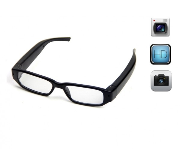 Eye Wear with Spy Camera and Audio Recorder