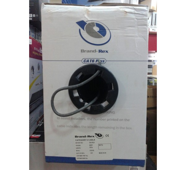 Brand-Rex Cat 6  Cable