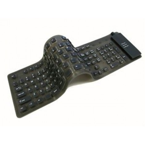 Flexible Folding Usb Keyboard For Laptop & Desktop