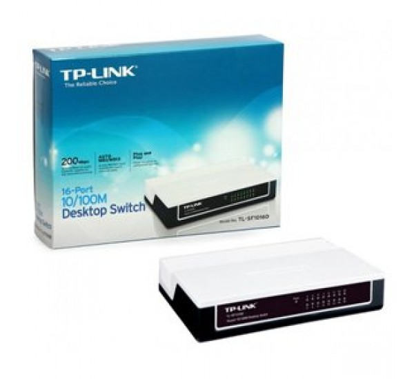 TP-Link 16-port 10/100Mbps Desktop Switch TL-SF1016D
