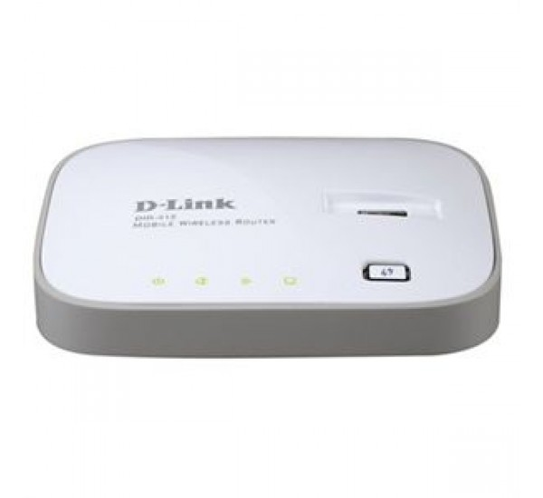D-Link 3G Mobile Wireless Broadband Router N 150