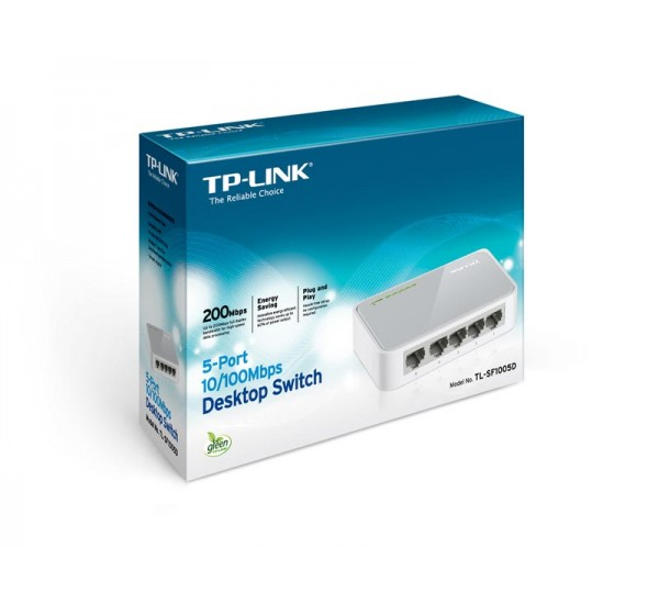 TP-Link 5-Port 10/1000mbps Desktop Switch